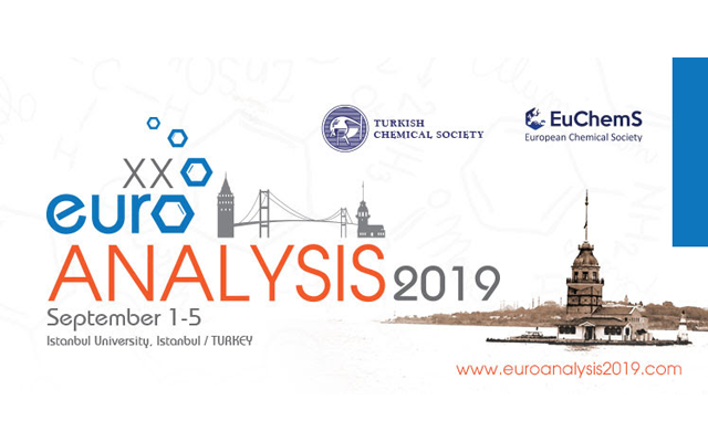 Euroanalysis XX Conference to be held from September 1st to 5th, 2019 in Istanbul, Turkey