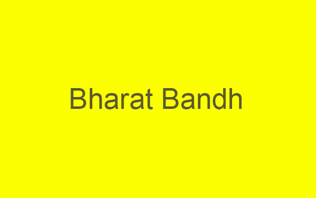 Bharat Bandh, Schools & Colleges to be shut for 2 days