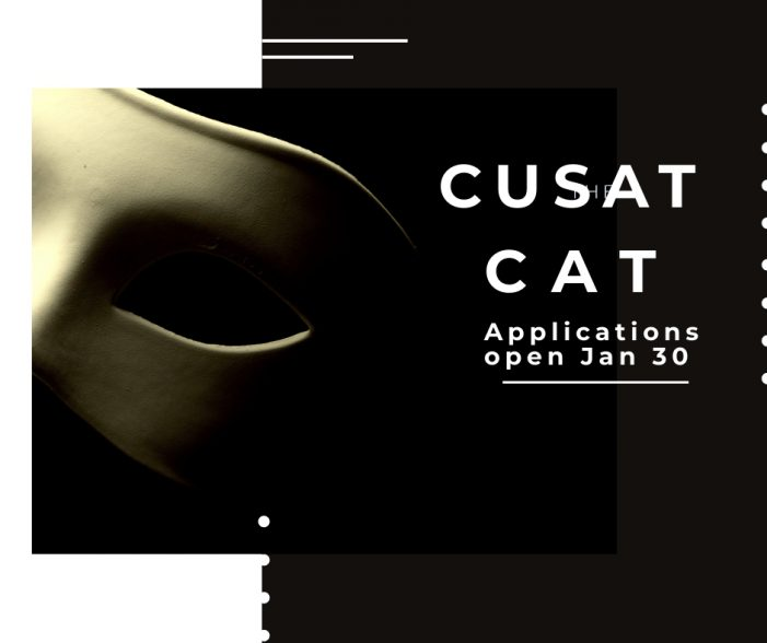 Apply for Cusat's CAT admission test from Jan 30