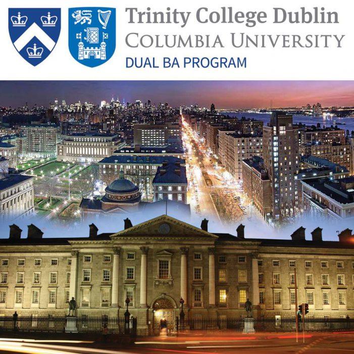 Trinity College Dublin & Columbia University launch Dual BA program in India