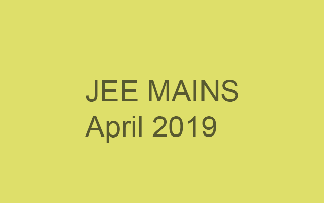 Application Process for JEE Mains starts today