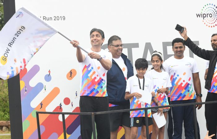 Spirit of Wipro Run Brings Together Participants from 110 Cities Across 34 Nations