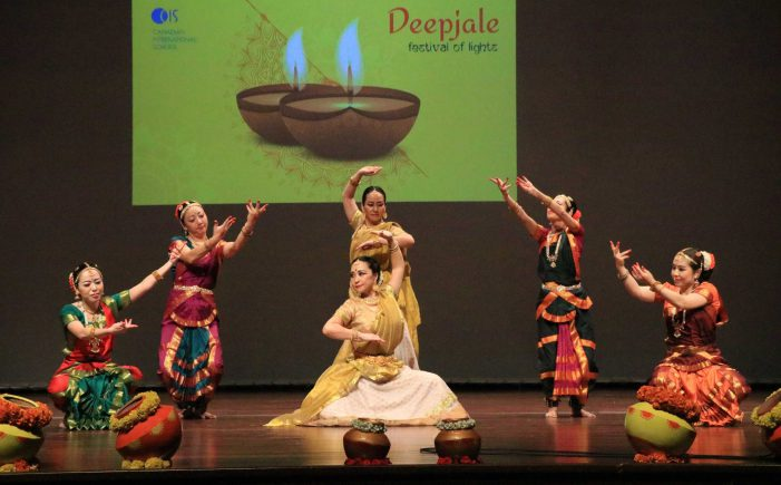 Students From Over 40 Nationalities Celebrate Diwali At C I S Bangalore