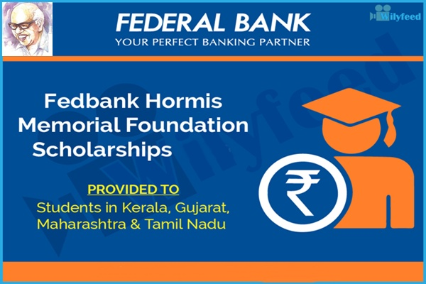 Applications Invited for Federal Bank Hormis Memorial Foundation Scholarship