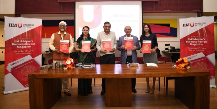 IIM Udaipur Launches Business Review Magazine Encompassing Impact-oriented Research and Insights Valuable for Management Professionals