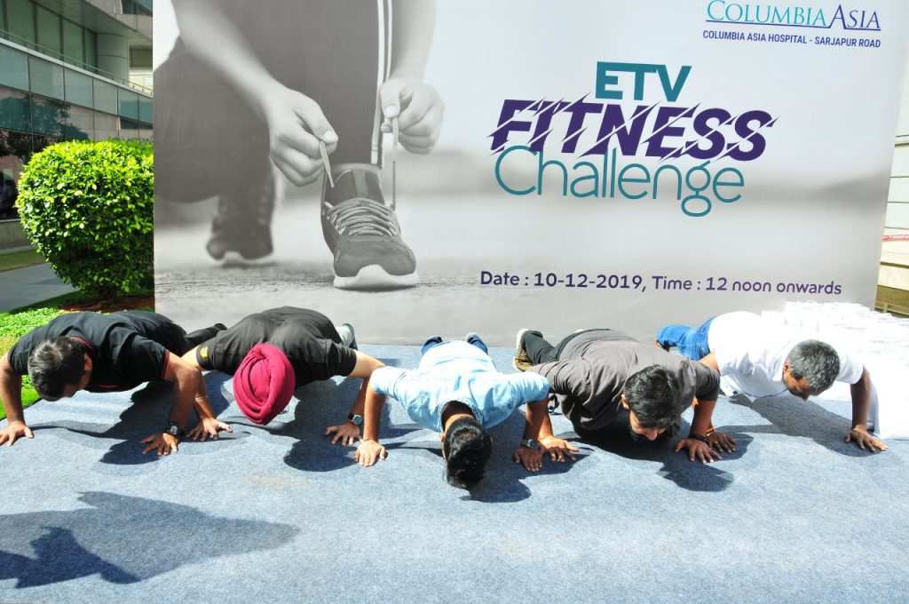 Columbia Asia Hospital launches fitness challenge