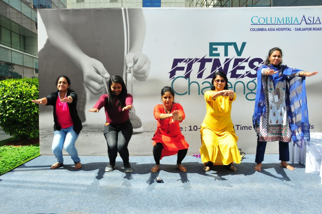ETV fitness challenge
