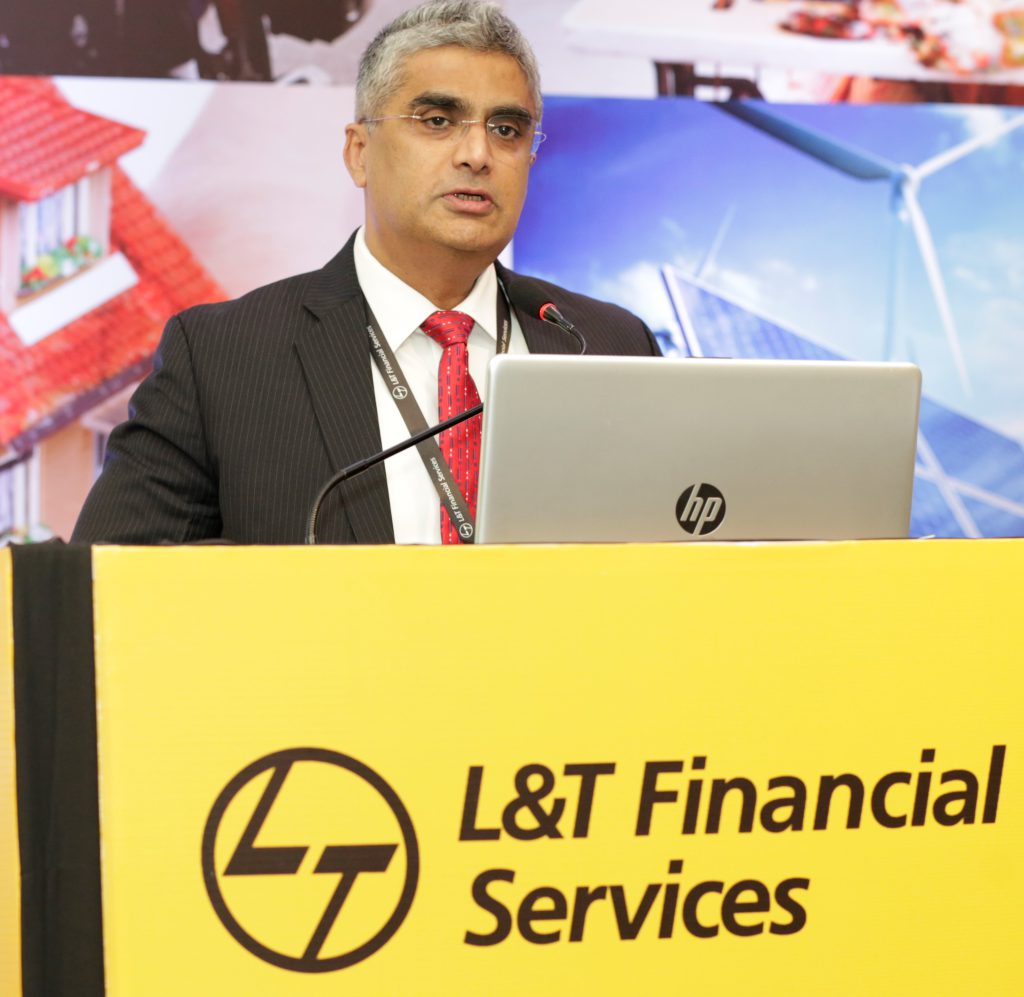 Mr. Dinanath Dubhashi - MD & CEO (L&T Finance Holdings Ltd).