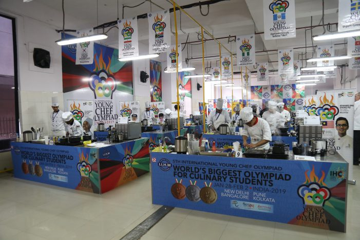 IIHM to host 60 student chefs from the world's best culinary and hospitality educational institutions at the Young Chef Olympiad 2020