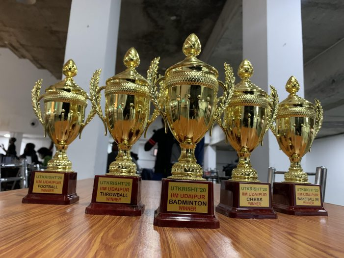 IIM Udaipur's annual sports fest Utkrisht'20 draws to a memorable finale
