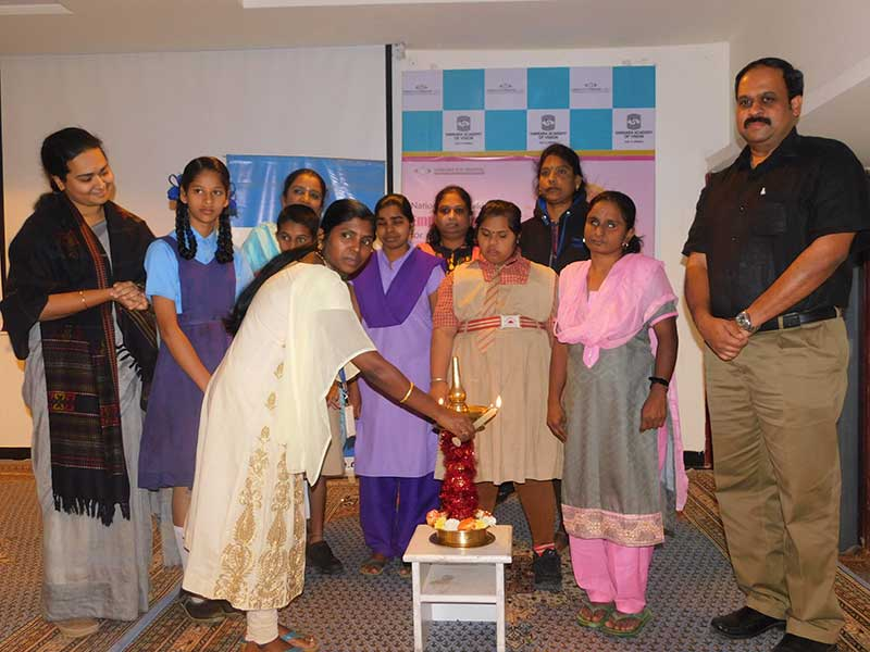 Work shop for special girl child
