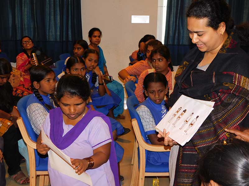 child sexual abuse awareness workshop for specially challenged girl children