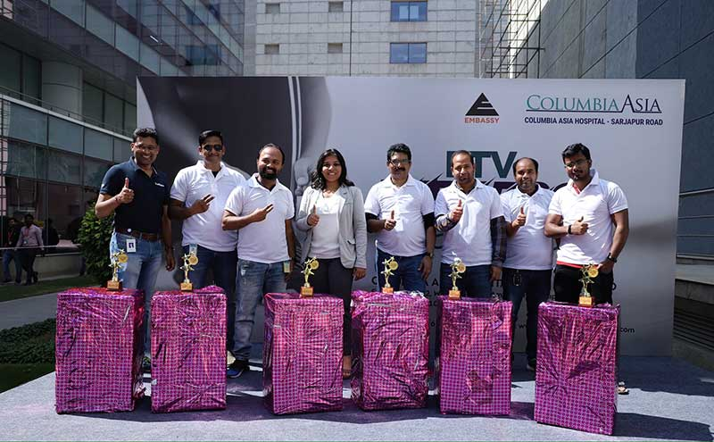 fitness challenge organized by Columbia Asia Hospital