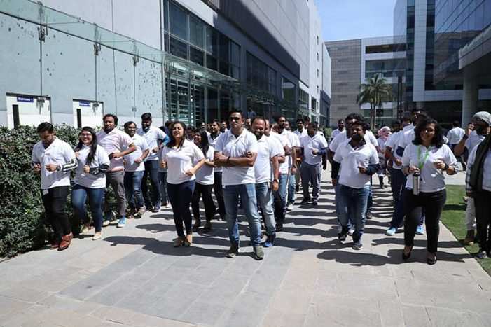 Techies take stride for good health through a month-long fitness challenge organized by Columbia Asia Hospital Sarjapur Road
