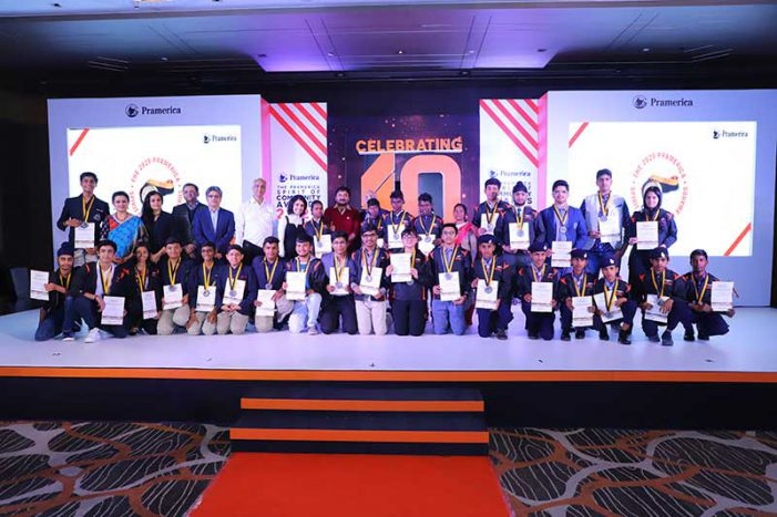 India's top student volunteers felicitated at the 10th Annual Pramerica Spirit Of Community Awards