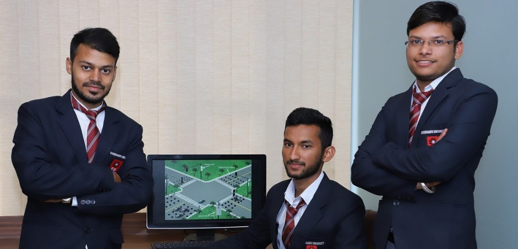 Chandigarh University Engineering Students Develops Smart Traffic Control System for Smart Cities