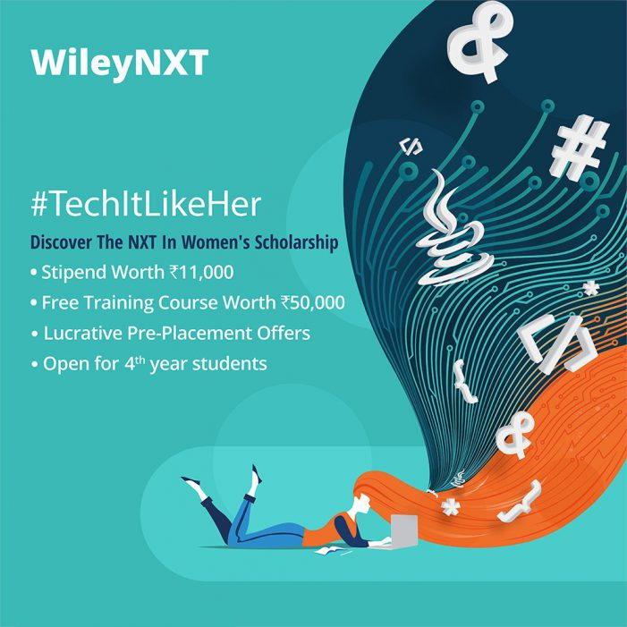Wiley Announces #TechitLikeHer Scholarship to Support Underprivileged Female Students Aspiring for Careers in Fields of Engineering and Technology