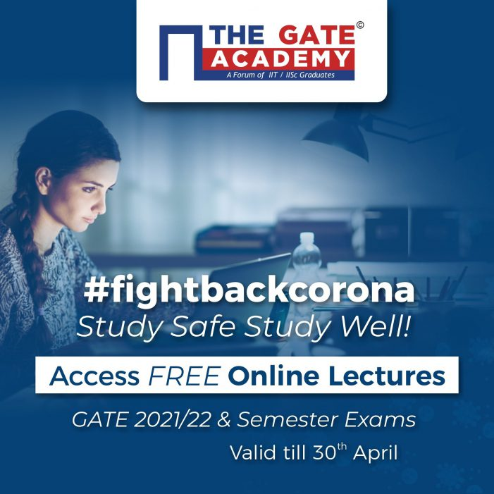 THE GATE ACADEMY, Bangalore, Announces Free Access to its Video Lectures for GATE Aspirants and Engineering Students, Across India