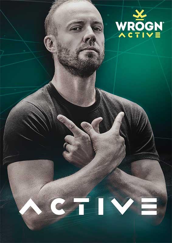 AB de Villiers Gives WROGN An Active Twist