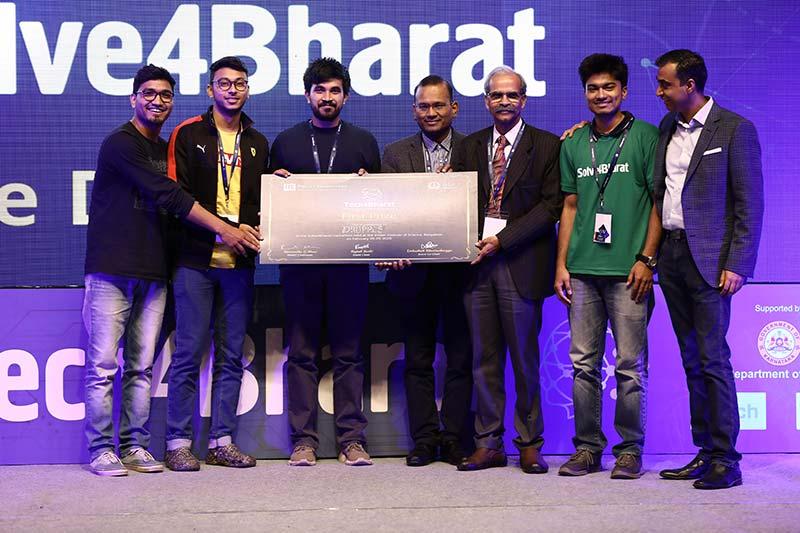 winner solve4bharat