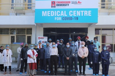 Chandigarh University in Association With District Administration Mohali Establishes Punjab's Largest COVID-19 Isolation Facility at Gharuan