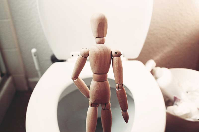A leaky bladder could be a sign of urinary incontinence