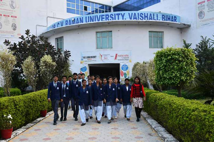 CVRU Bihar announces admissions open for the 2020 academic session