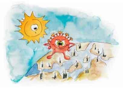 Grundfos sponsors children's book to help little ones through crisis