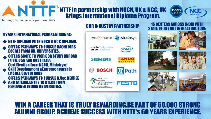 NTTF Organizes a Free Webinar on International Diploma Programs and Career Pathways in Collaboration with NOCN, UK