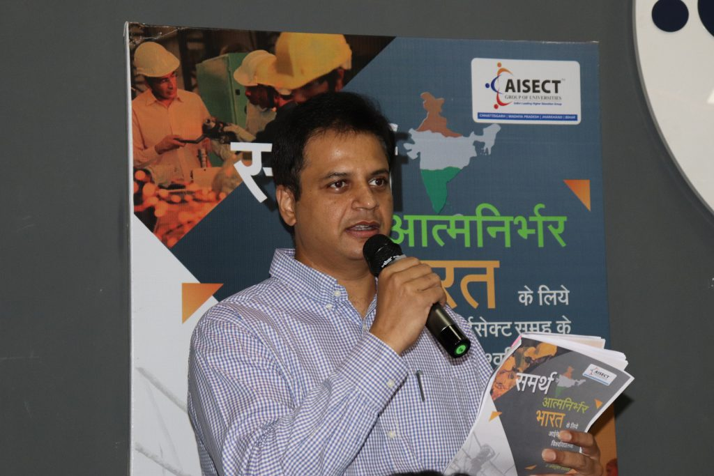 AISECT  launches 'Samarath' campaign to support the AatmaNirbhar Bharat initiative