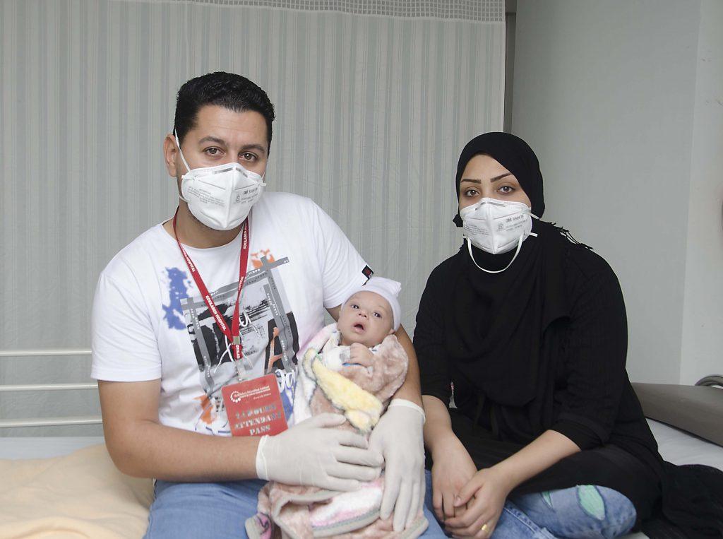 Blue baby from Iraq treated in Mumbai