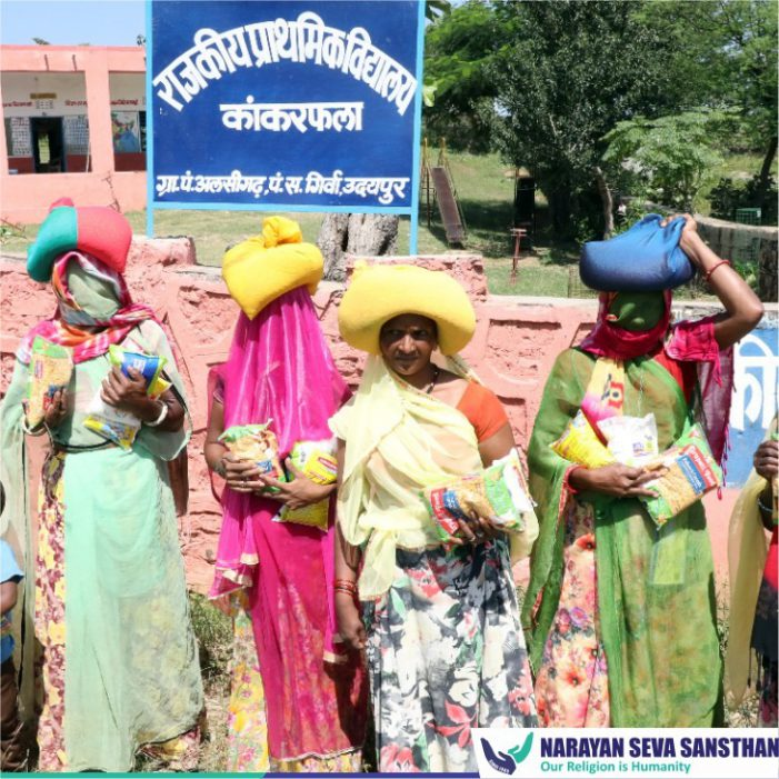 #DaanUtsav-NSS aims to distribute free monthly ration to 50 thousand families