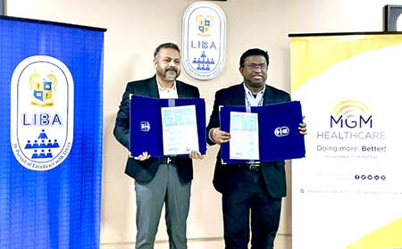 LIBA signs MoU with MGM Healthcare