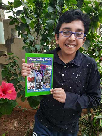 Greenwood High student Arnay Agarwal authors unique book 'Happy Holiday Medley' on vacation experience for children