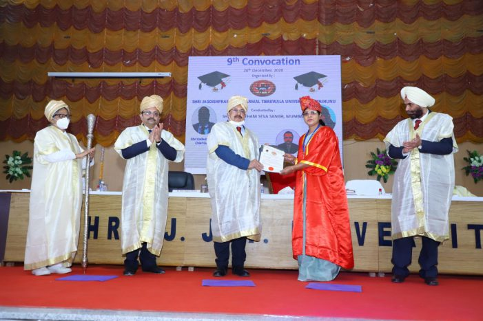 JJT University Held its Ninth Annual Convocation