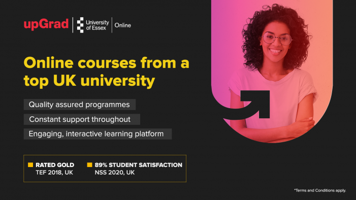 upGrad partners with UK's University of Essex to bring 72 undergraduate and postgraduate programs to the Indian workforce