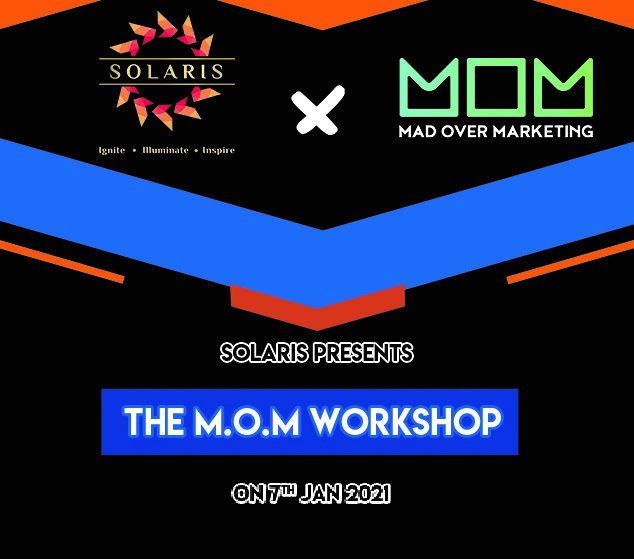IIM Udaipur's Annual Management Fest Solaris' 20-21 Flags Off, begins with (M.O.M) Marketing Workshop