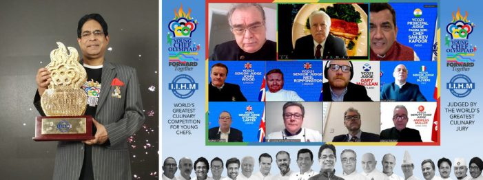 IIHM Connects 50 Countries, 24 Time Zones in Opening Ceremony of World's Biggest International Young Chef Olympiad